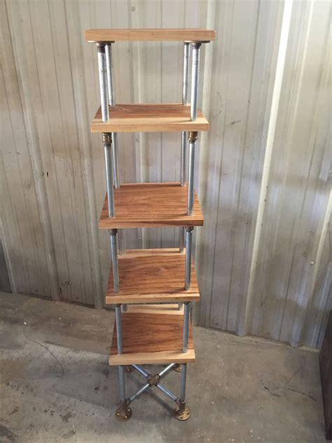 Metal Etagere Tower by New Freestanding Etagere Tower Shelf From Industrialenvy