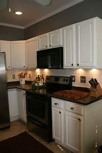 kitchen white appliances black countertop white cabinets With kitchen colors with white cabinets with cyber monday wall art