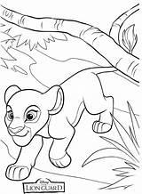 Lion Guard Coloring Kiara Kion Leon Colorear Dibujos Guardia Leeuwenwacht Printable Rey King Sheets Kleurplaat Disney Simba Imagenes Leeuwin Fuli sketch template