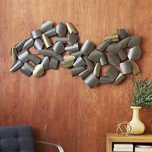 Wanddeko Metall Abstrakt : wanddeko f rs esszimmer coole wandgestaltung f r stheten ~ Whattoseeinmadrid.com Haus und Dekorationen