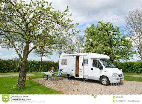 traveling mobile homes travel by mobile home stock photo image 62367955