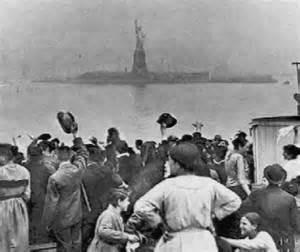 Statue of Liberty Ellis Island Immigrants