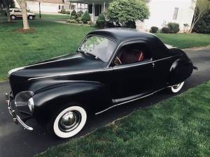 1941 Lincoln Zephyr 3 Window Business Coupe