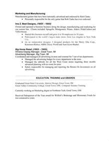 page 2 resume header sle 2 page resume header exle