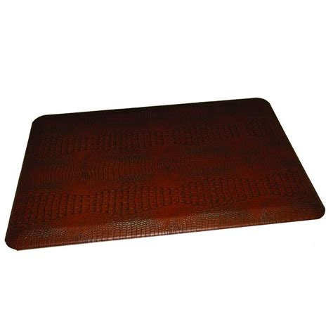 rhino anti fatigue mats comfort craft crocodile auburn 24