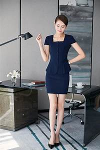 Name Style Designs Office Uniform Designs Women Skirt Suits 2017 Summer New