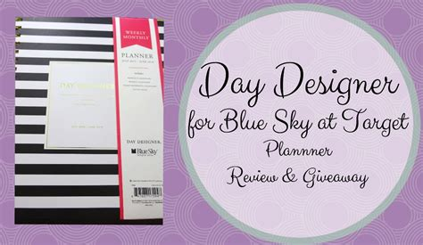 day designer by day designer by blue sky for target review giveaway