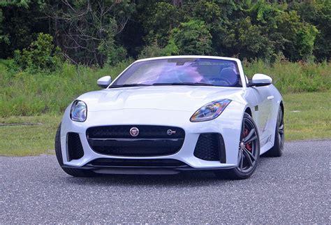 2017 Jaguar Ftype Svr Convertible Quick Spin Review