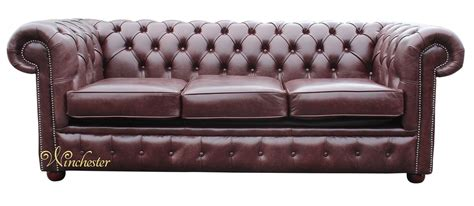 Chesterfield Settee by Chesterfield 3 Seater Settee Sofa Bed Brown