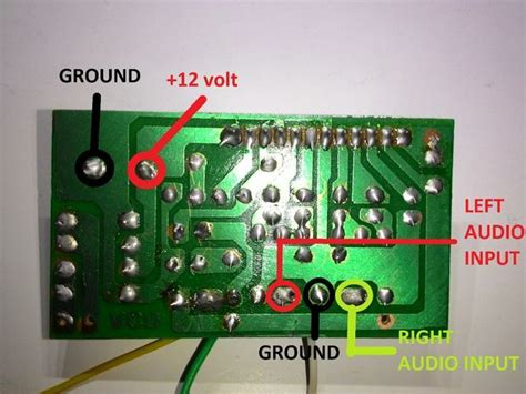 stereo  audio amplifier simple electrical