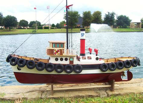 Rc Tug Boat rc harbor tug boat ready to run the scale