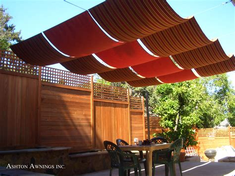 retractable awnings canopy outdoor patio pergola