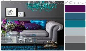 Peacock home accents, light purple and gray purple and