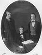 Image: Lammot du Pont, Alfred V. du Pont, and Eleuthère ...