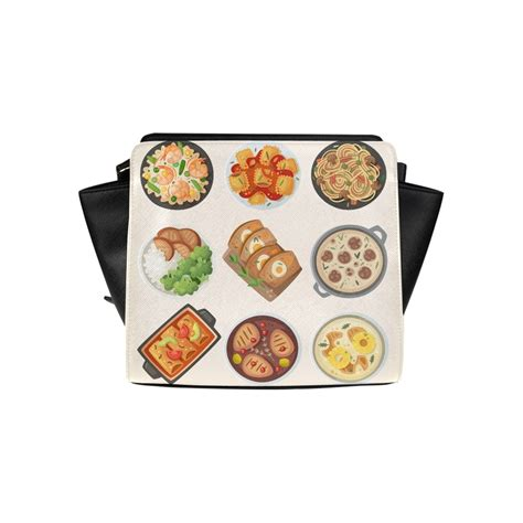 Free for commercial use no attribution required high quality images. Delicious Food Dinner Cartoon Satchel Bag Crossbody Bags ...