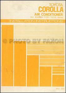 1980 Toyota Corolla Body Repair Shop Manual Original No  98390
