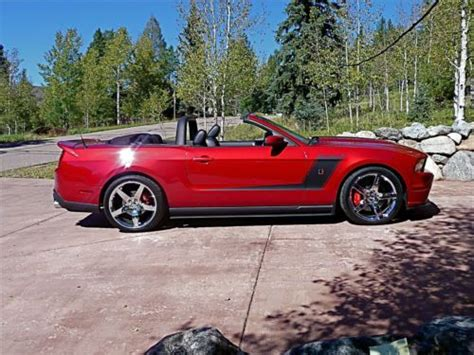 find used roush mustang convertible 427r 1 of 1 build t