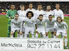 Real Madrid Real Madrid fans vote for their starting XI