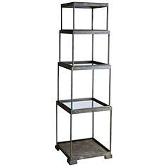 Etagere Definition by Artwork And Shelving Help Define A Contemporary Living