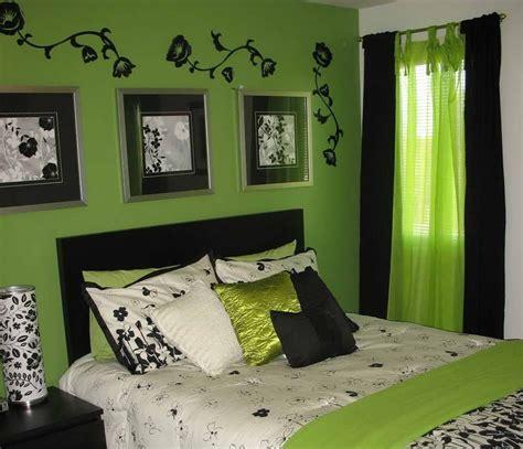 Black And Green Bedroom  Fresh Bedrooms Decor Ideas