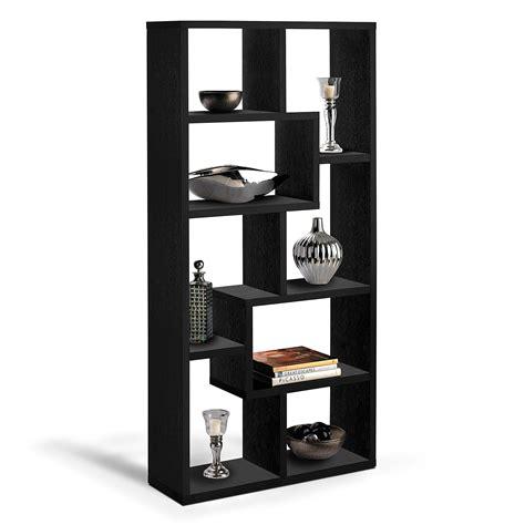 Obsidian Bookcase  Black  American Signature Furniture