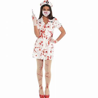 Nurse Costume Bloody Adult Halloween Accessory Kit