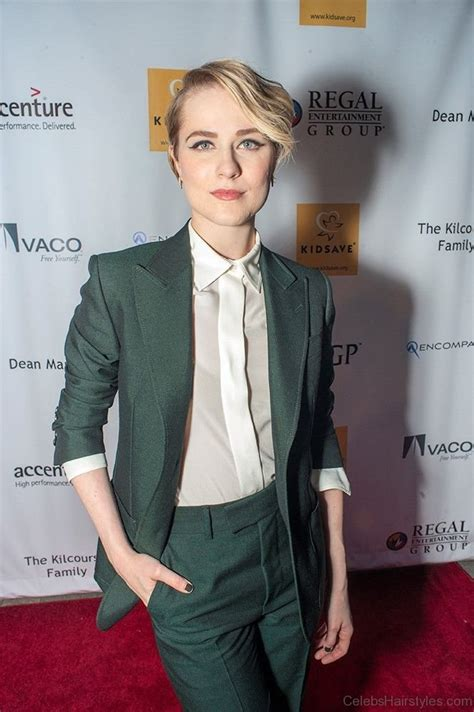 stylish hairstyles  evan rachel wood