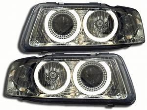Audi A3 Phase 2 : 2 feux avant angel eyes pour audi a3 8l phase 2 de 2000 a ~ Medecine-chirurgie-esthetiques.com Avis de Voitures