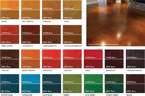 Concrete Colors  Concrete Coatings  Garage Cabinets