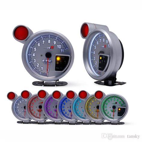 5 Rpm ,auto Gauge /type-r Tachometer Ledcar Meter/auto