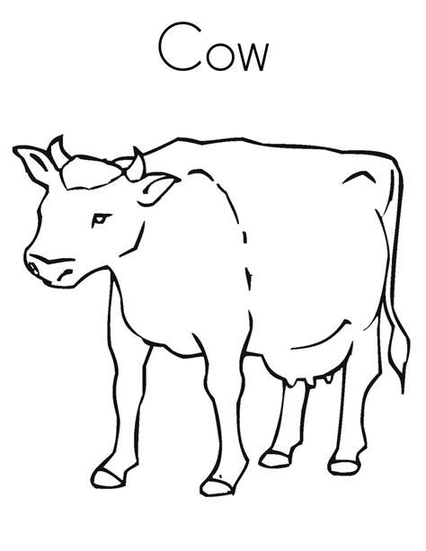 cow coloring page realistic cow coloring pages printable coloring pages