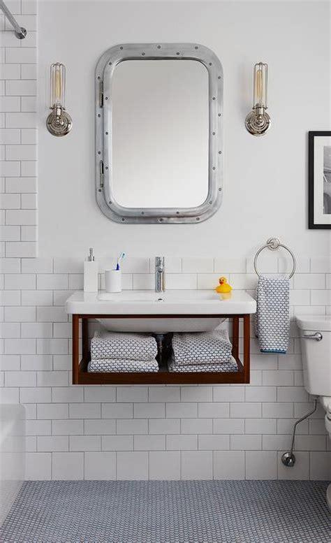 submarine inset medicine cabinet  honed white marble