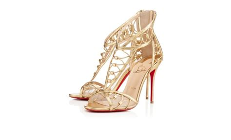 Gold Wedding Shoes Shaadi Bazaar