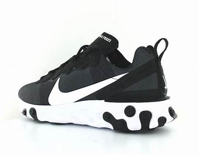 Nike React Element Noir Blanc