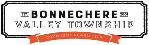 Bonnechere Valley Newsletters - The Township of Bonnechere ...