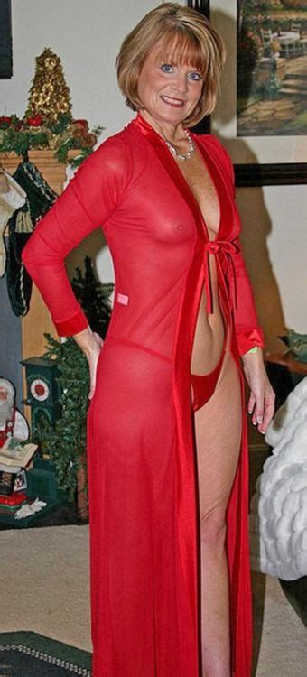 sissy adores older women in red sexy mature woman