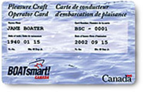 Boat Driving Age In Pennsylvania by Ontario Pleasure Craft Operator Card