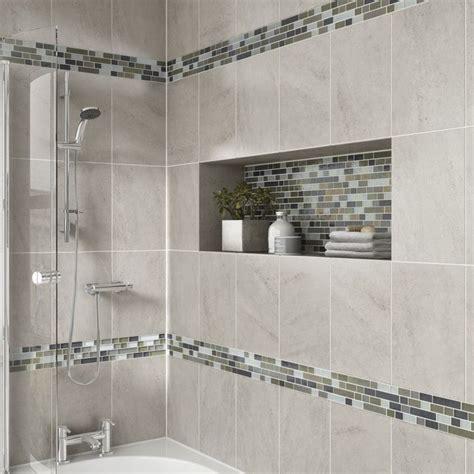 master bathroom shower floor mosaic detail best 25 large tile shower ideas only on