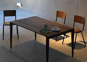 Bureau 150 Cm : table de repas ou bureau en ch ne ou noyer jankurtz chez ksl living ~ Teatrodelosmanantiales.com Idées de Décoration