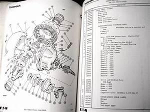 Timberjack 404 Gp Logging Skidder 1972 Parts Manual Eaton
