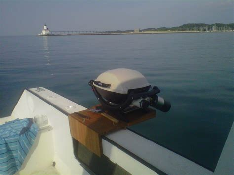 Boat Grill For Rod Holder by Which Magma Grill Or Other Recommendations The Hull