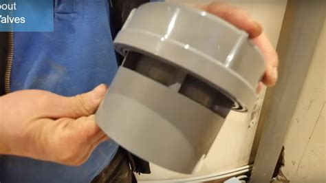 install air admittance valves  durgo valves