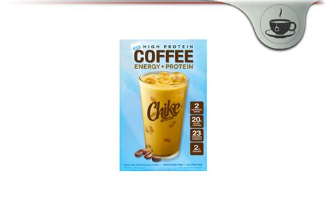 Each serving of chike high protein iced coffee contains 20 grams of whey protein and 2 shots of premium espresso to help maximize muscle while giving you sustained energy to start off your day on the right foot. Chike Nutrition Iced Coffee Review - High Protein Coffee For Pure Energy?