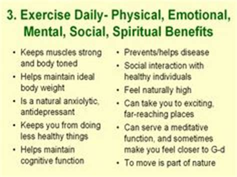 mental health benefits  exercise  fitness
