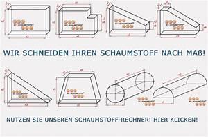 Sitzauflagen Nach Maß : schaumstoffzuschnitte nach ma von nrw schaumstoffe ~ Indierocktalk.com Haus und Dekorationen