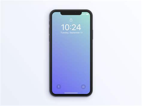 Iphone Mockup Free Iphone X Mockup Psd