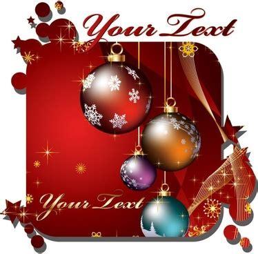 beautiful christmas card vector  vector