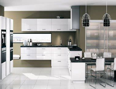 cuisine mur meuble blanc cuisine blanche 20 idées déco pour s 39 inspirer deco cool