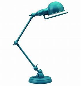 Lampe De Bureau Enfant : lampe de bureau design bleue e14 milla ~ Teatrodelosmanantiales.com Idées de Décoration