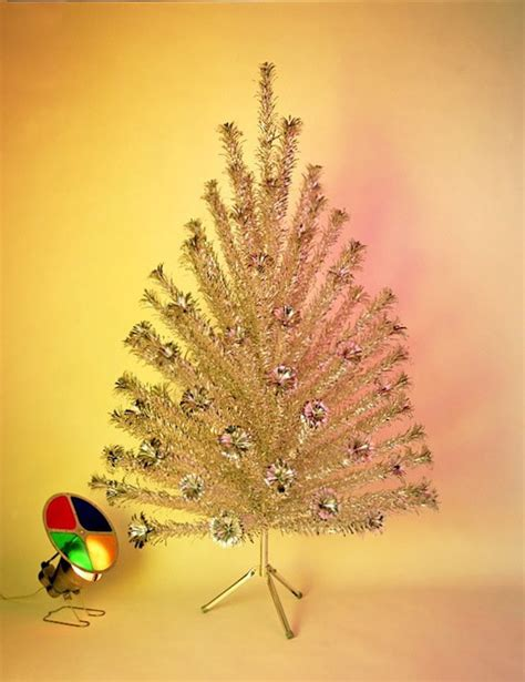 history lesson the aluminum tree the etsy